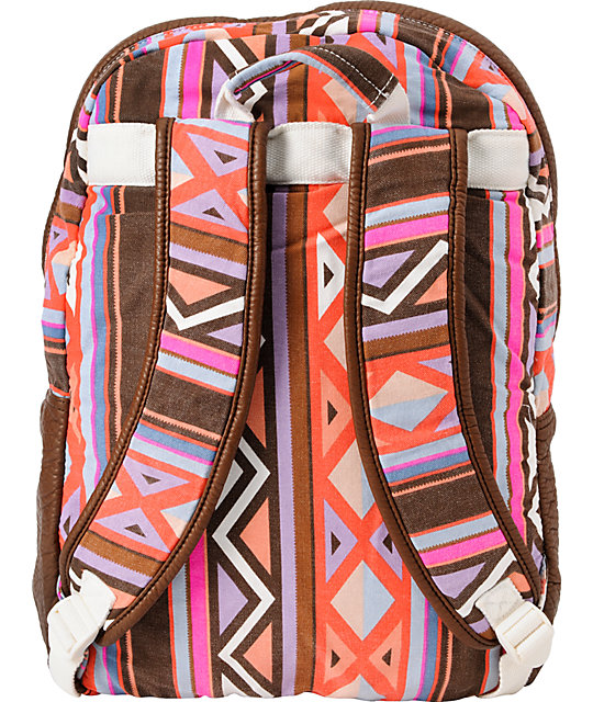Billabong Take Me With You Tribal Print Backpack