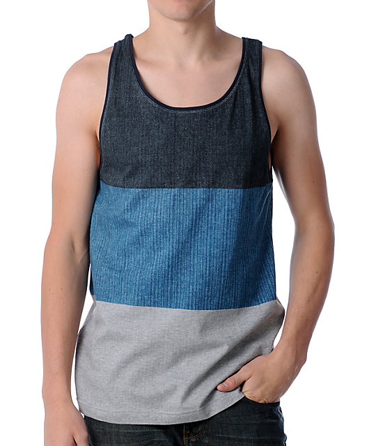 Billabong Triband Navy Tank Top