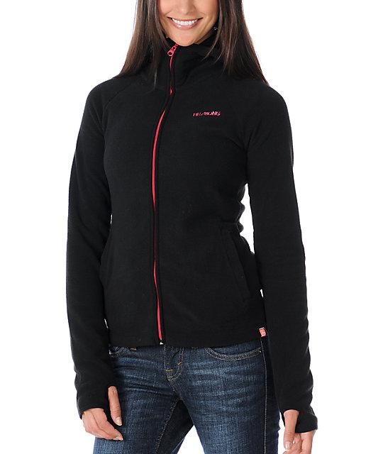 Billabong Whistler Black Polar Tech Fleece Jacket
