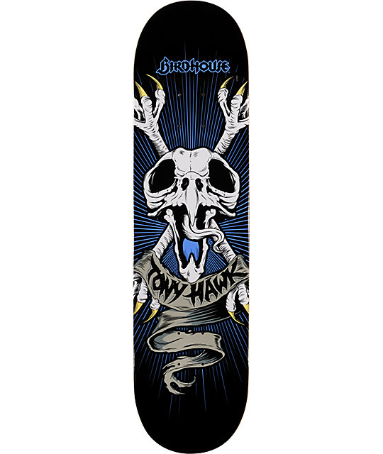 "Birdhouse Hawk Crossbones 8.0""  Skateboard Deck"