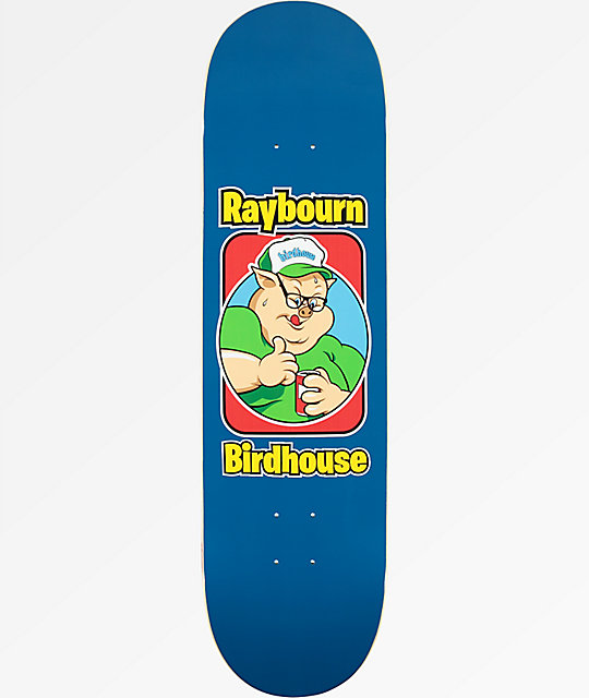 "Birdhouse Raybourn Old School 8.5"" Skateboard Deck"