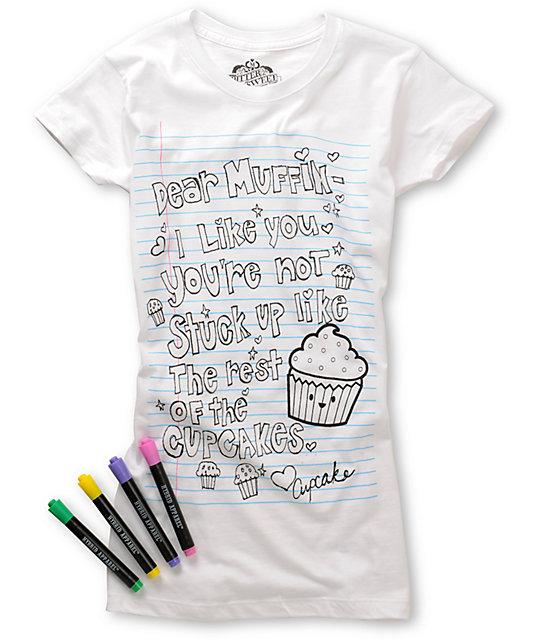 Bitter Sweet Cake Coloring T-Shirt
