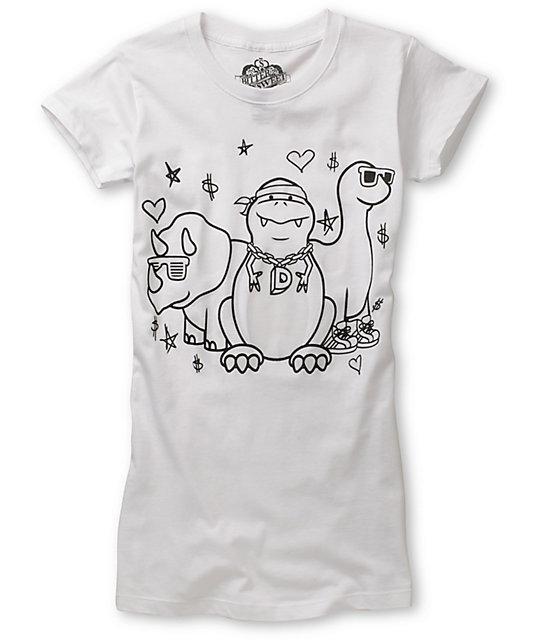 Bitter Sweet Dino Crew UV Ink T-Shirt