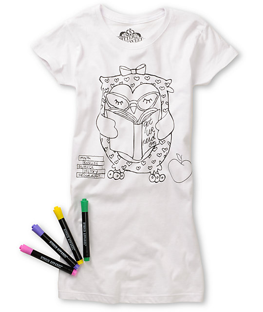Bitter Sweet Get Your Nerd On Coloring T-Shirt