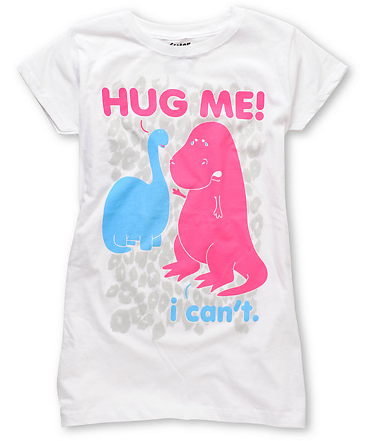Bitter Sweet I Cant Hug White T-Shirt