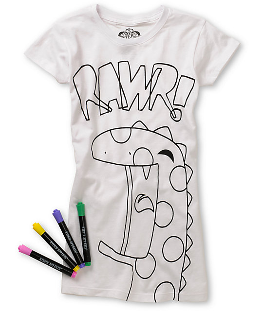 Bitter Sweet Pass It On Coloring T-Shirt