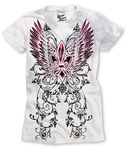 Bitter Sweet Redemption Fleur Graphic T-Shirt
