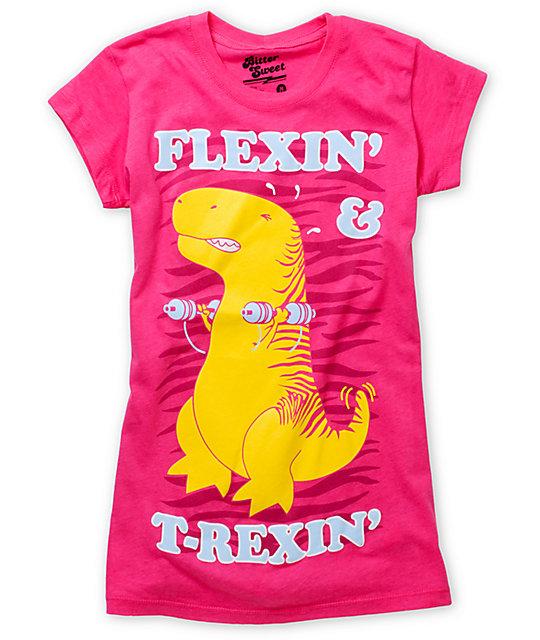 Bitter Sweet T-Flex Pink T-Shirt