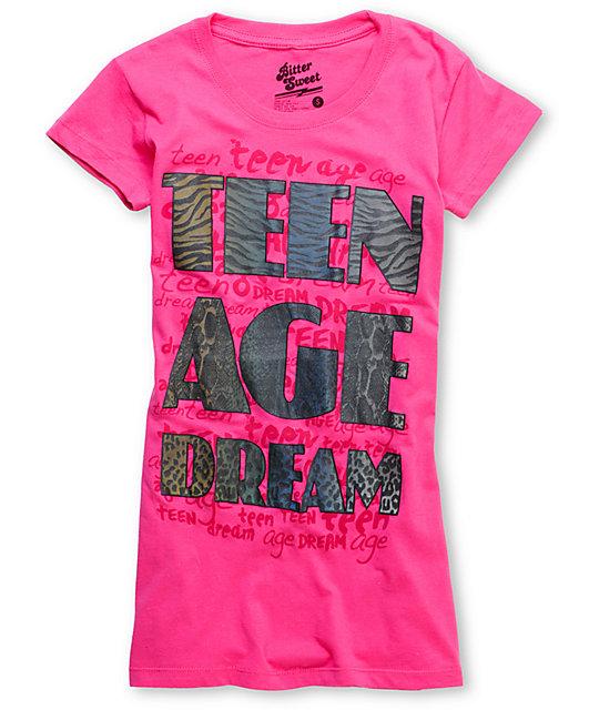 Bitter Sweet T-Shirtnage Dream Pink Heat Ink T-Shirt