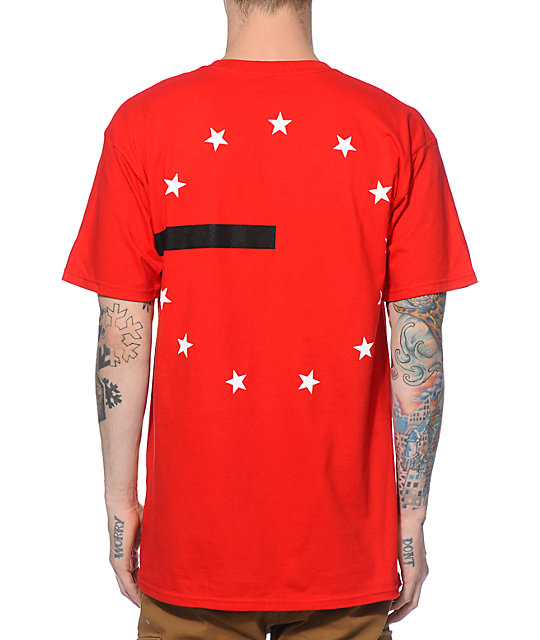 Black Scale 13 Stars And Stripes T-Shirt