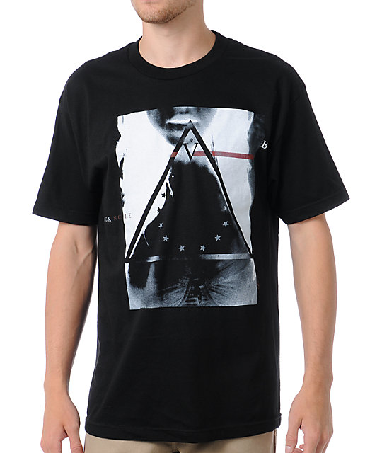Black Scale Bermuda Triangle Black T-Shirt