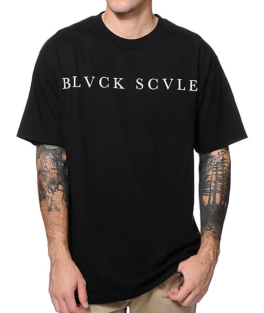 Black Scale Logotype 2013 Black T-Shirt