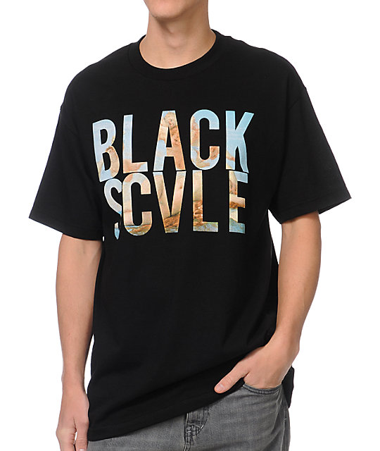 Black Scale Mi Amor Black T-Shirt