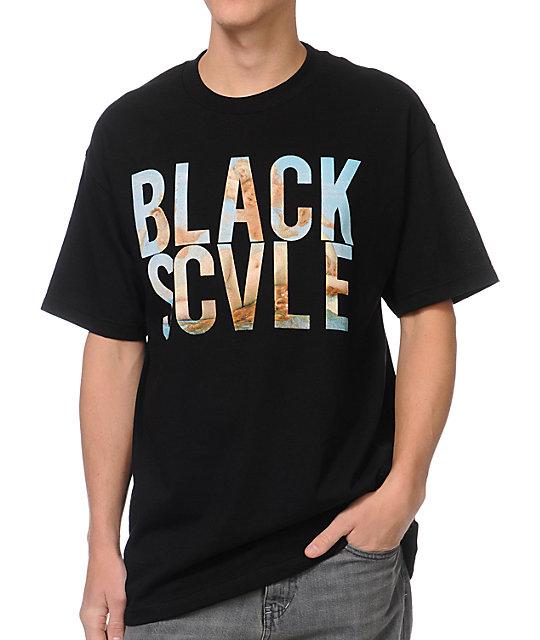 Black Scale Mi Amor Black T-Shirt