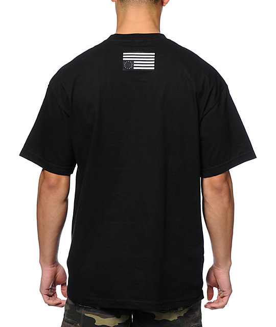 Black Scale Ruthless By Law Black T-Shirt
