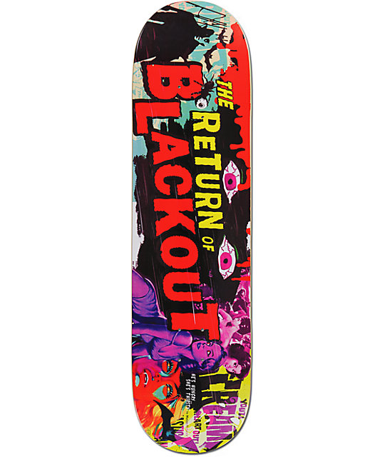 "Blackout B Movie 8.5""  Skateboard Deck"