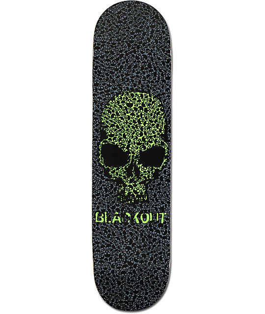 "Blackout Eldritch 7.87""  Skateboard Deck"