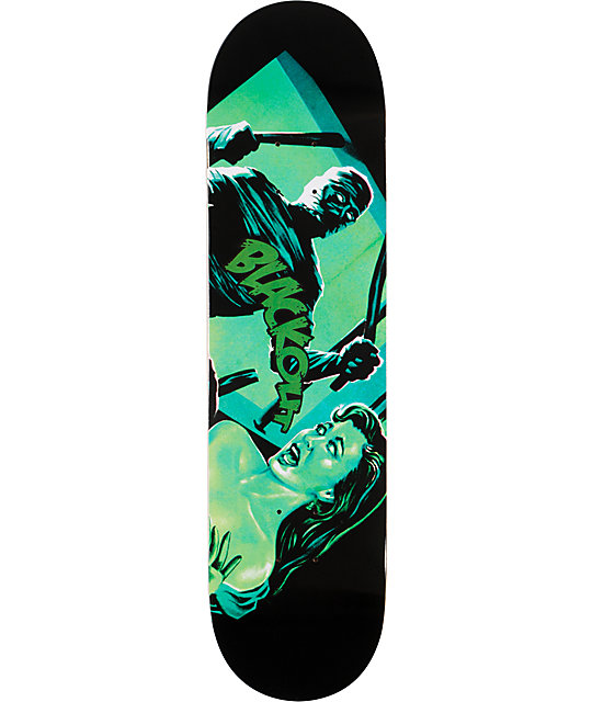 "Blackout Mummy 8.0""  Skateboard Deck"