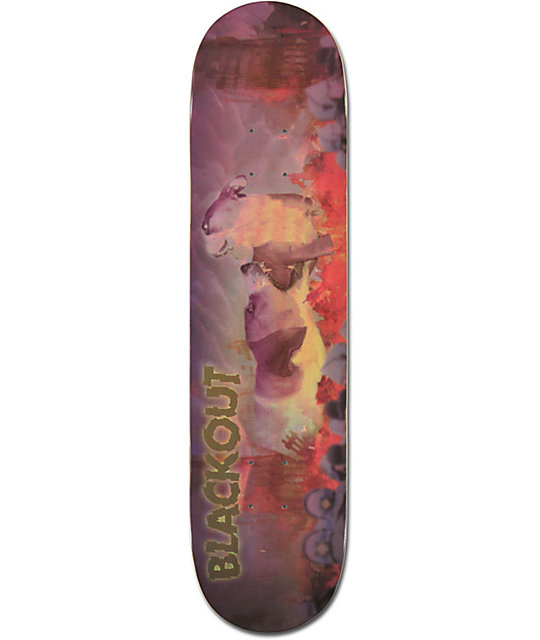 "Blackout Puppy Apocolypse 7.75""  Skateboard Deck"