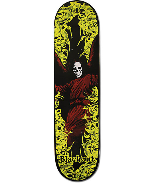 "Blackout Snakes 8.0""  Skateboard Deck"