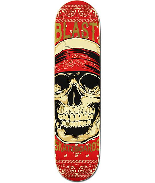 "Blast East West 7.75""  Skateboard Deck"