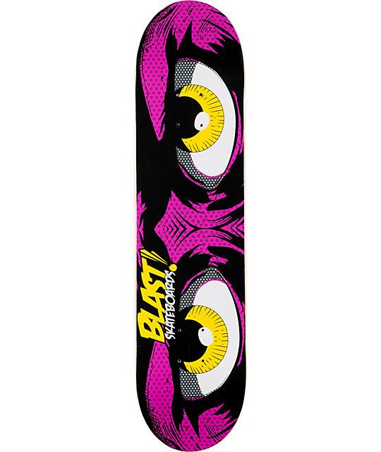 "Blast Pop Eyes 7.75""  Skateboard Deck"