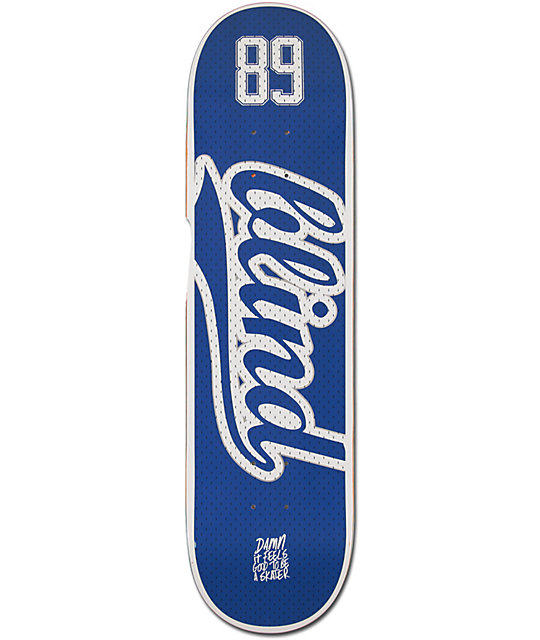 "Blind Athletic Skin 8.25""  Skateboard Deck"