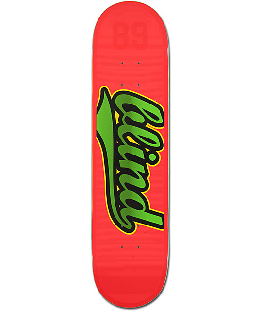 "Blind Athletic Skin V2 7.75""  Skateboard Deck"