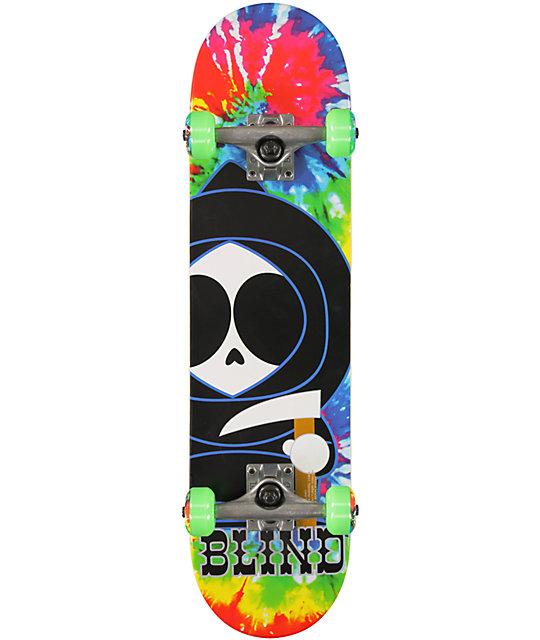 """Blind Classic Kenny Tie Dye 7.3""""  Complete Skateboard"""