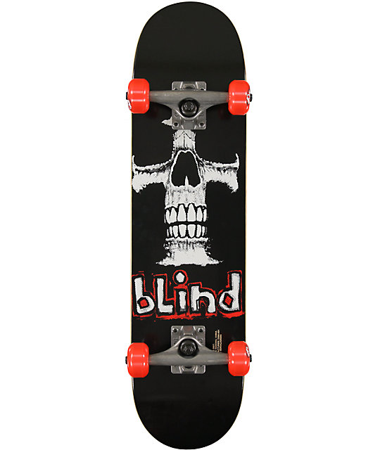 "Blind Eternal Cross 7.3""  Complete Skateboard"