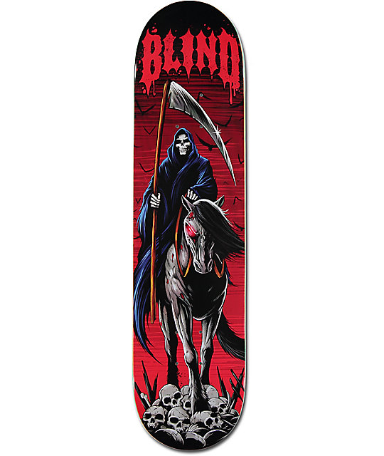 "Blind Iron Horse 7.75"" Skateboard Deck"