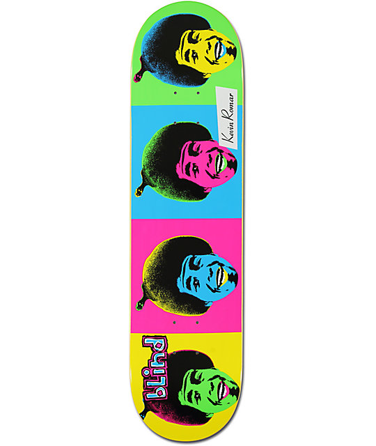 "Blind Kevin Romar Pop Art 8.0""  Skateboard Deck"
