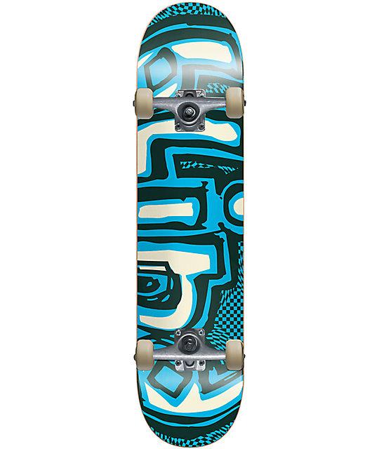 """Blind OG Warped 7.25"""" Skateboard Complete"""