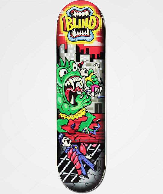 "Blind Rampart 1 8.0"" Skateboard Deck 