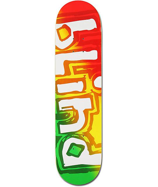 "Blind Tonal Rasta 7.75""  Skateboard Deck"