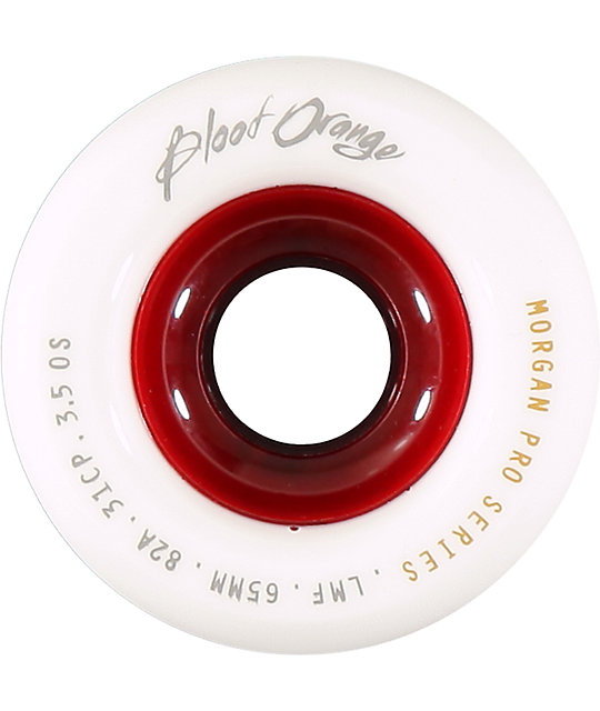 Blood Orange Morgan Pro 65mm 82a Longboard Wheels