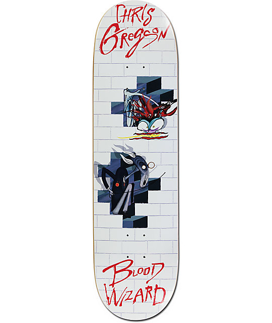 Blood Wizard Gregson The Wall 8 5 Skateboard Deck