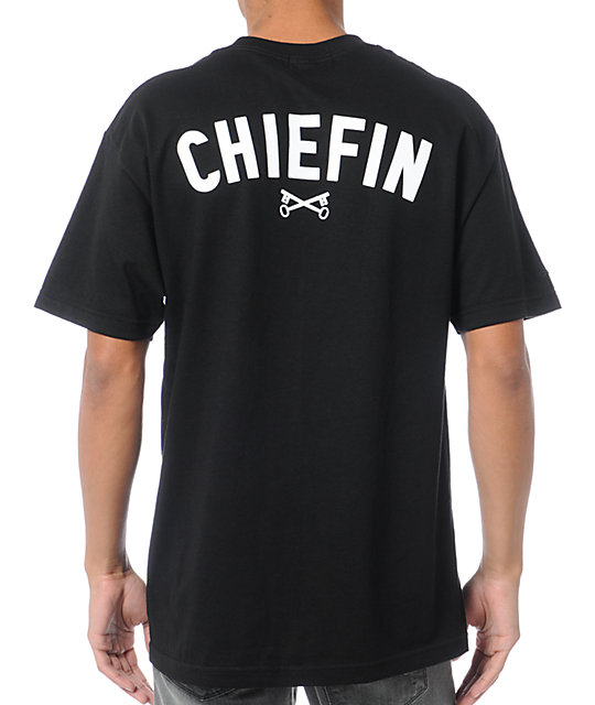 Bloodbath Chiefin Black T-Shirt