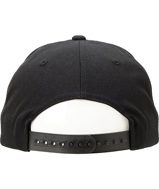 Bloodbath Stoneford Black Snapback Hat
