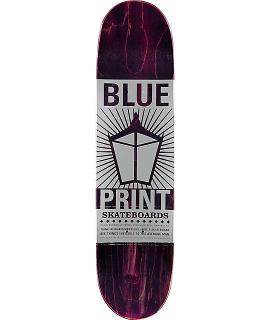 "Blueprint Brady Dog Days 8.125""  Skateboard Deck"