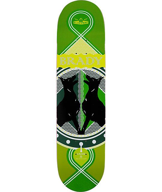 "Blueprint Brady Dog Days 8.125""  Skateboard Deck"