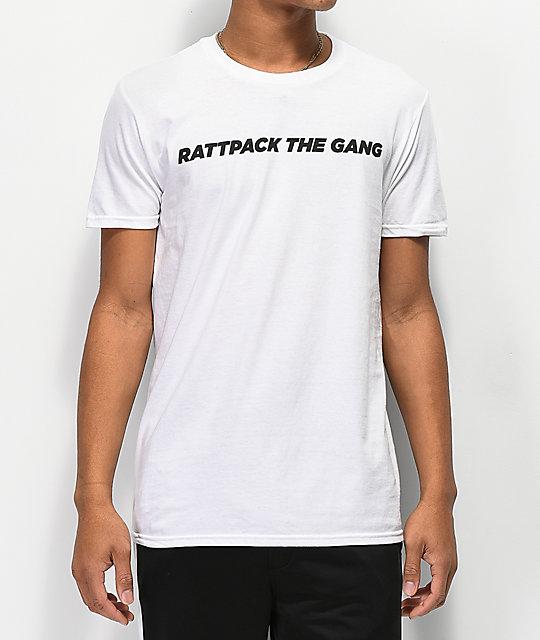 Camiseta By Bobby Logic Blanca Tarantino Rattpack If6ym7gYvb