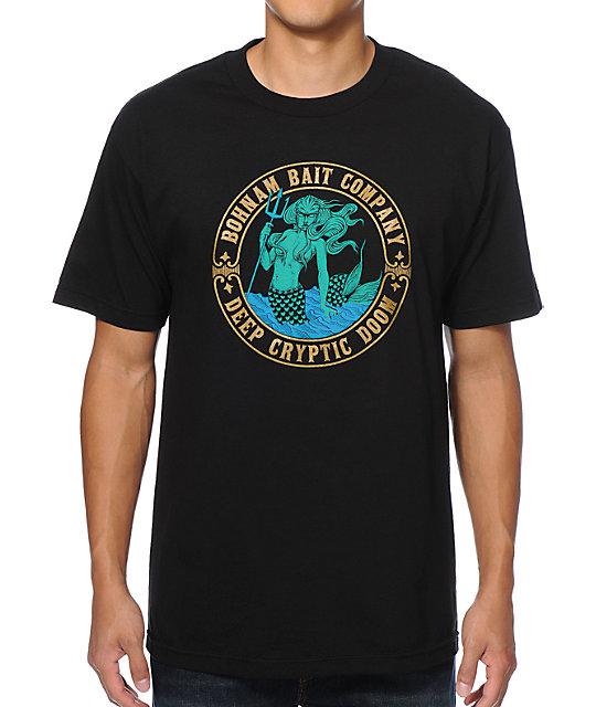 Bohnam Cryptic Black T-Shirt