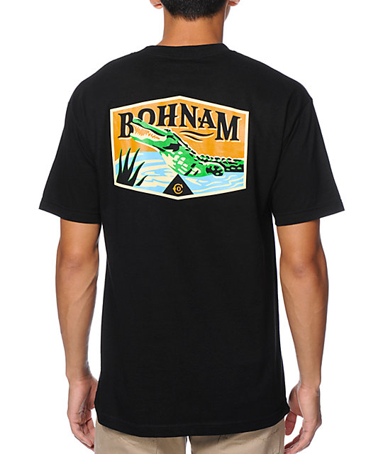Bohnam Deep South Black T-Shirt