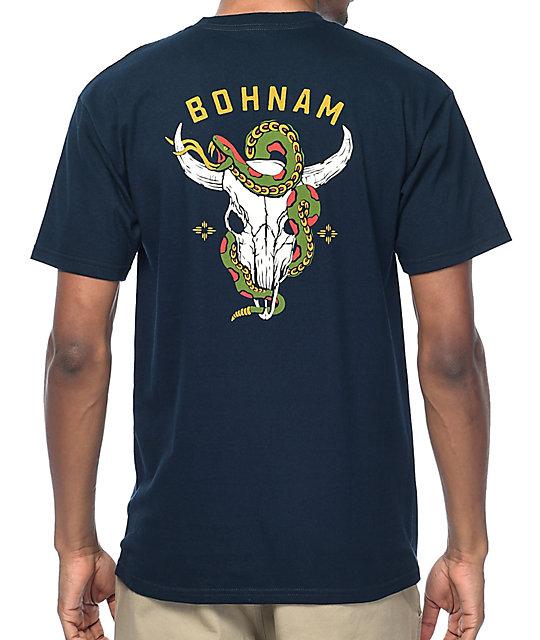 Bohnam Gorge Navy T-Shirt