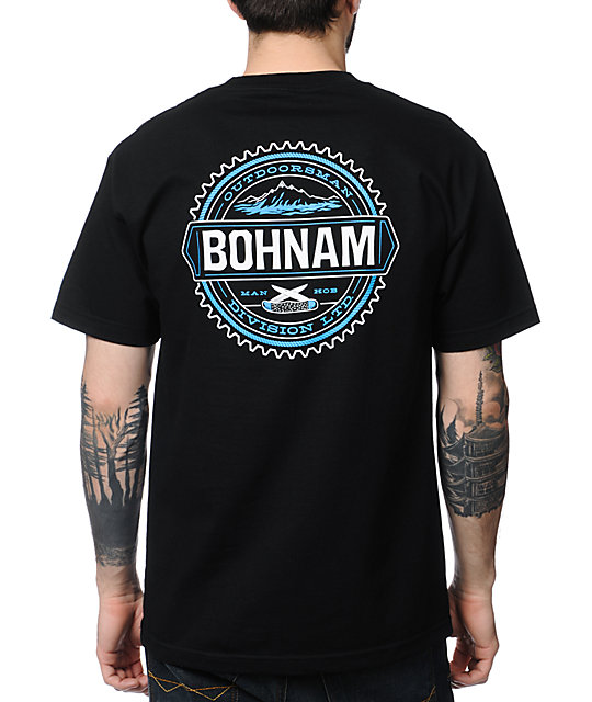 Bohnam Supply Co Foothills Black T-Shirt