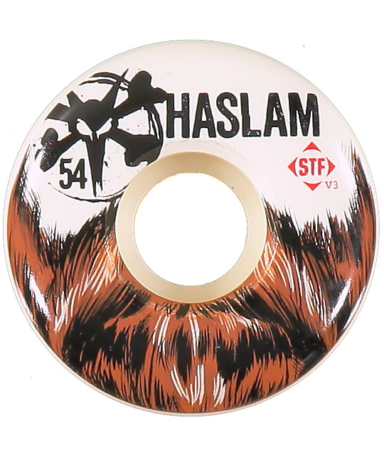 Bones Chris Haslam Beard STF 54mm Skateboard Wheels
