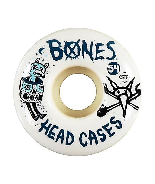 Bones Head Cases 54mm STF Skateboard Wheels