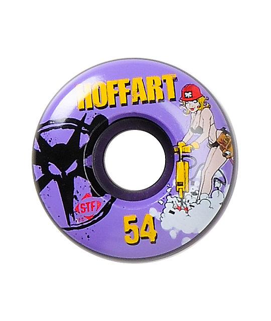 Bones Hoffart Jack Hoff STF 54mm Skateboard Wheels