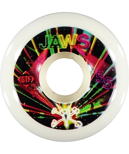 Bones Jaws Rave 55mm Skateboard Wheels